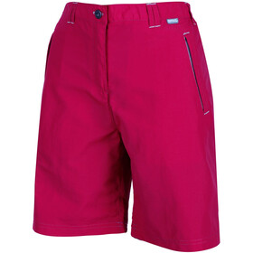 Regatta Chaska Shorts Women Dark Cerise